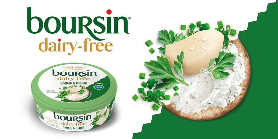 Boursin launches vegan cheese spread in the US