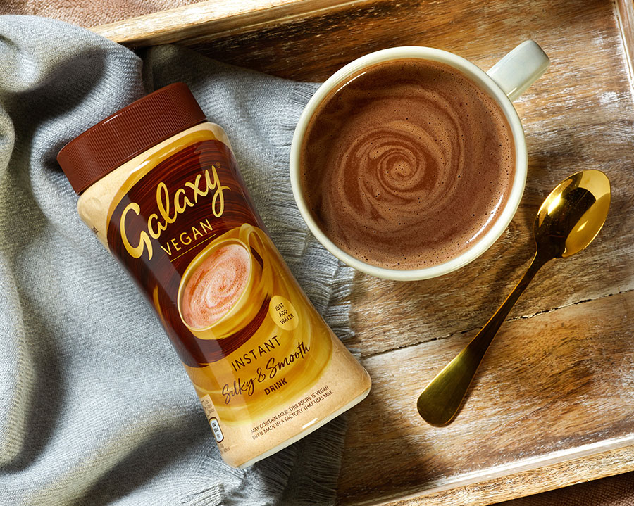 Galaxy launches vegan hot chocolate in time for winter