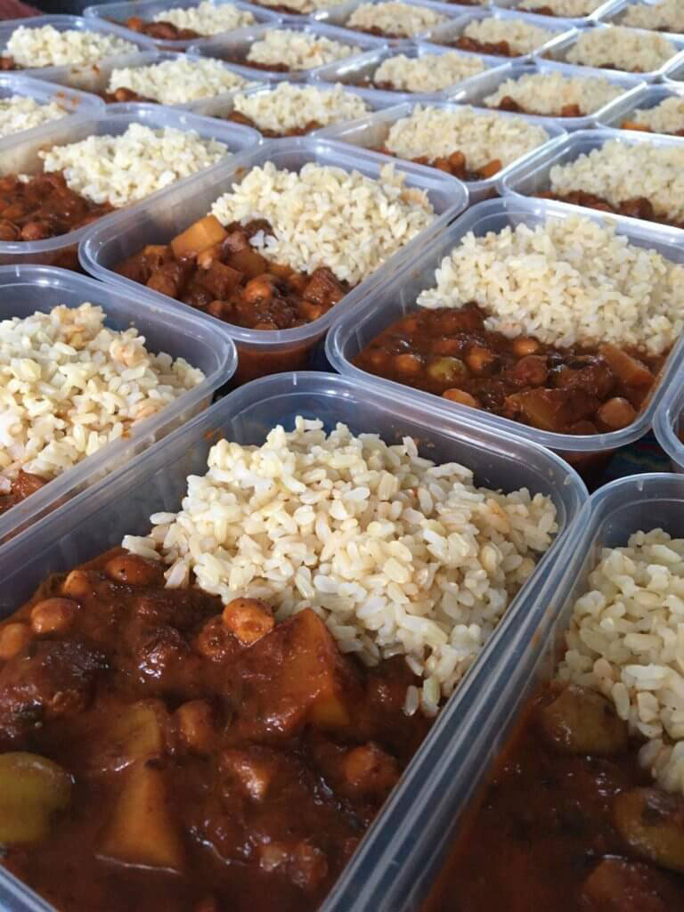 he delicious hot meals are to be supplied by Bristol-based caterer Kabala Kitchen, and vegetarian whole-food co-operative Suma.