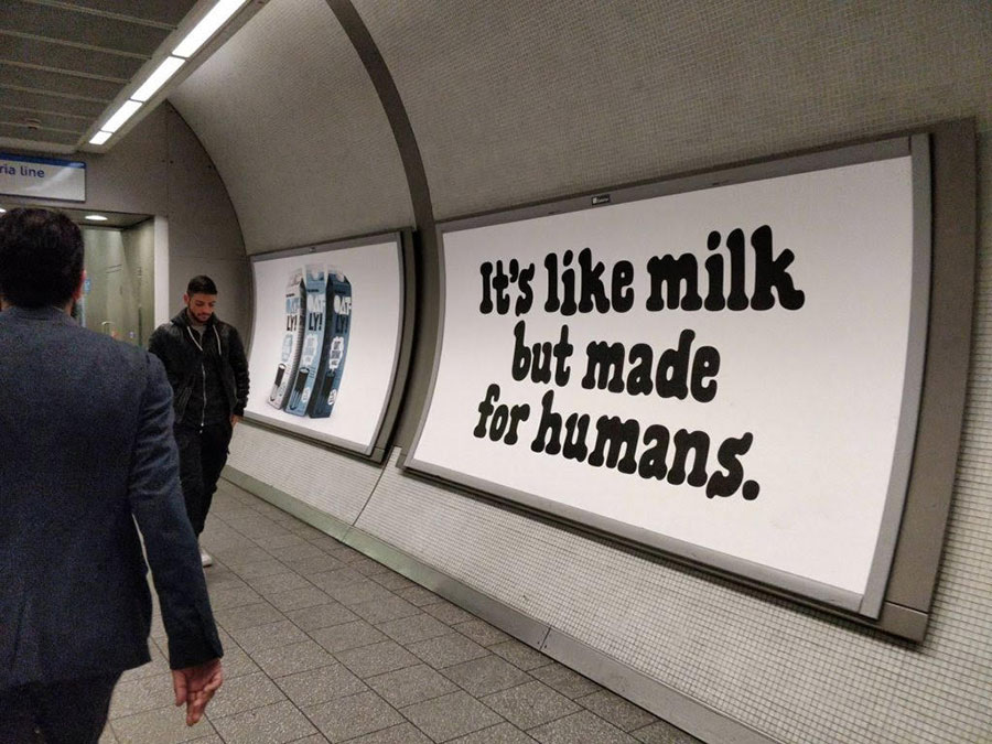 Oatly denied trademark for 'It's like milk but made for humans' slogan as 'Consumers know cow's milk is for calves'