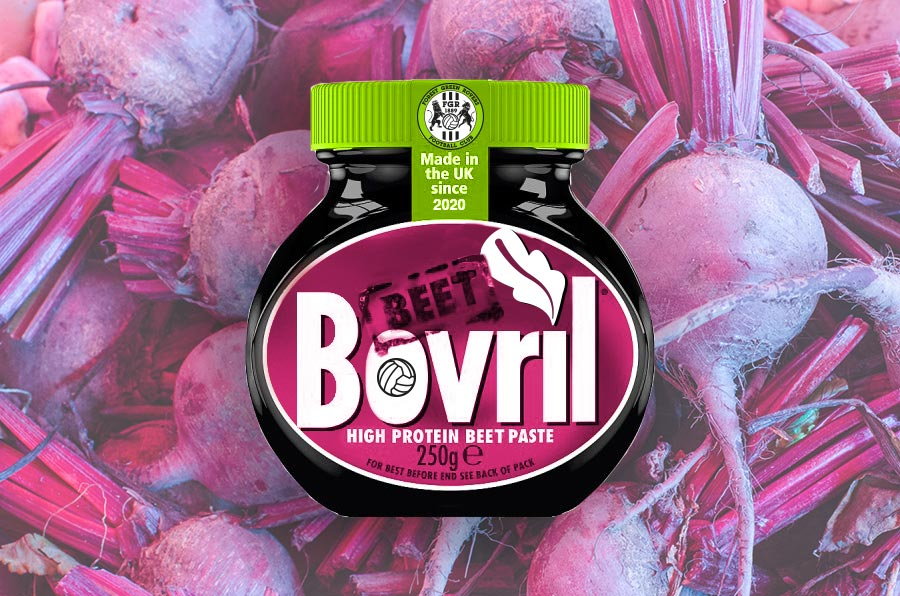 Iconic beef brand launches vegan Bovril made with beets