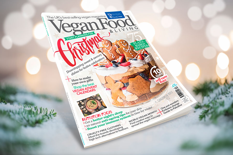 12 Days of Christmas: Win a 1-year subscription to Vegan Food & Living magazine!