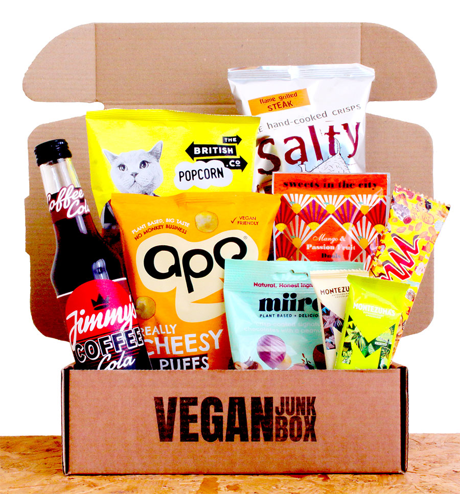 12 Days of Christmas: WIN a one-off Vegan Junk Box jam-packed with vegan treats!
