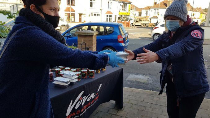 Vegan groups to provide 2,000 hot meals to those in need in Bristol