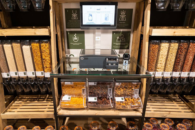 The new concept store will feature free water refills, eco-friendly fridges and a zero-waste refill hub. Image credit: Central England Co-operative