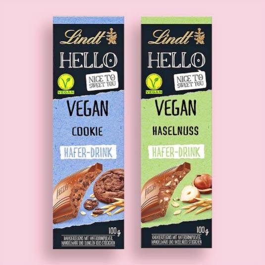 Lindt launches vegan milk chocolate in the UK