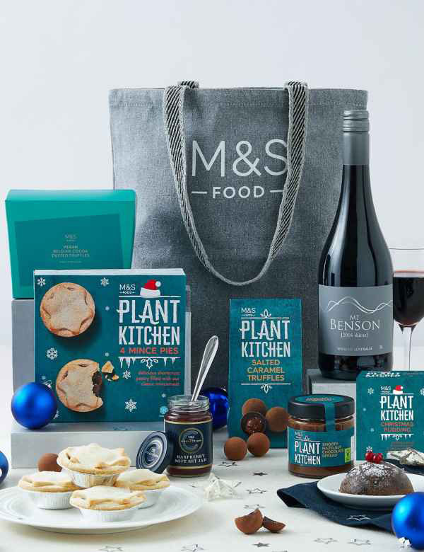 M&S launches a vegan hamper for Christmas