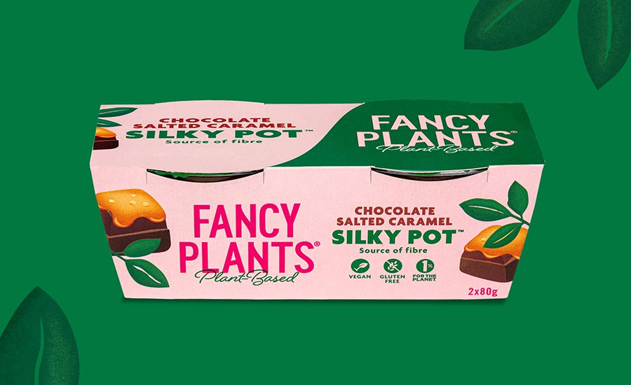 New plant-based dessert brand Fancy Plants launches vegan chocolate pots
