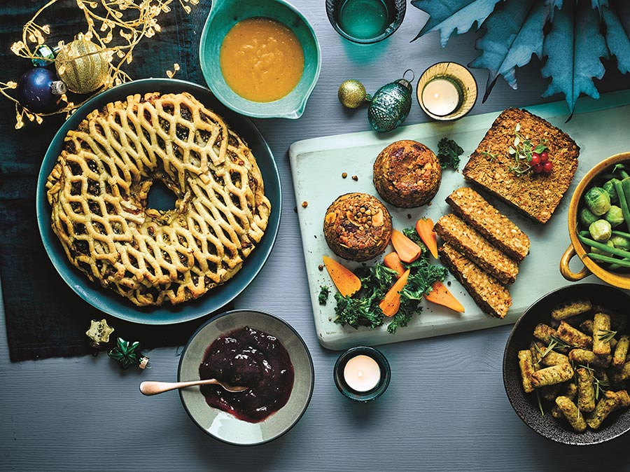 Lidl launches new vegan Christmas dishes in its Deluxe Festive food range