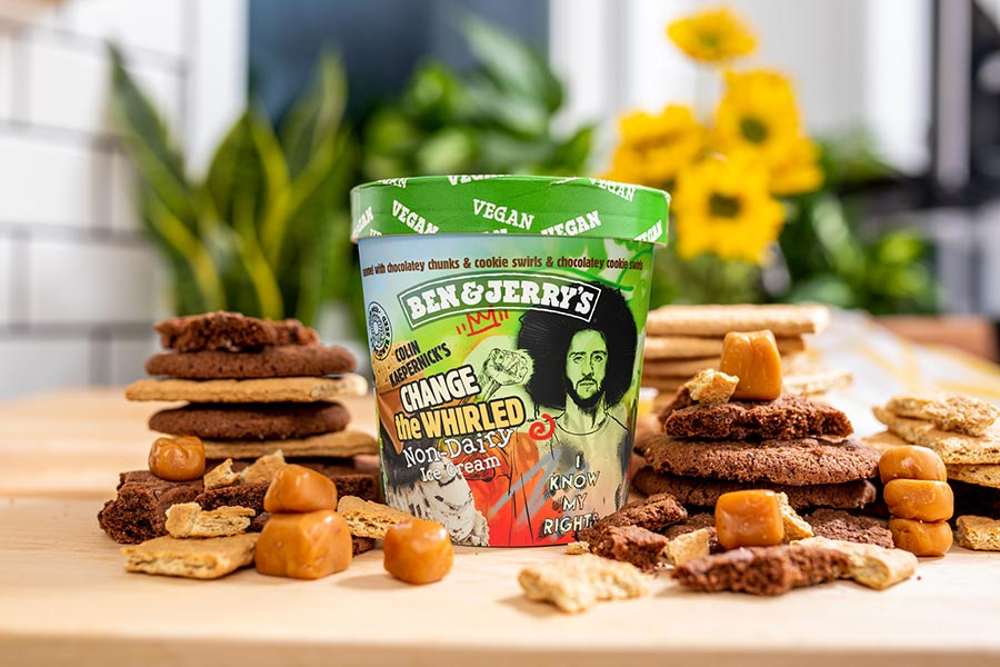 Ben & Jerry's launch new vegan flavour with civil-rights activist Colin Kaepernick