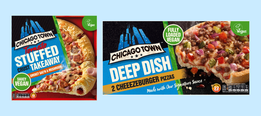Chicago Town to launch two new vegan pizzas for Veganuary