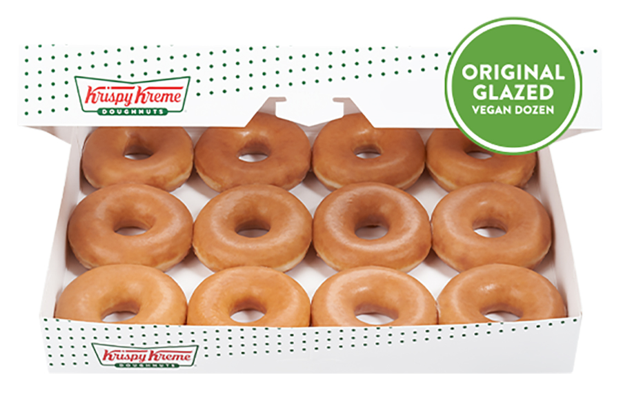 Krispy Kreme to launch vegan doughnuts in the UK