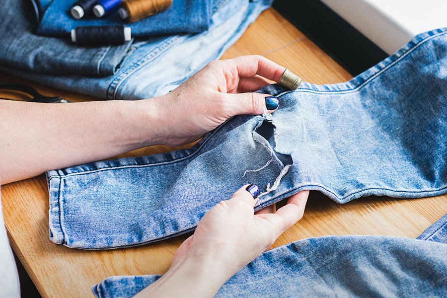 How to mend clothes to give them a new lease of life