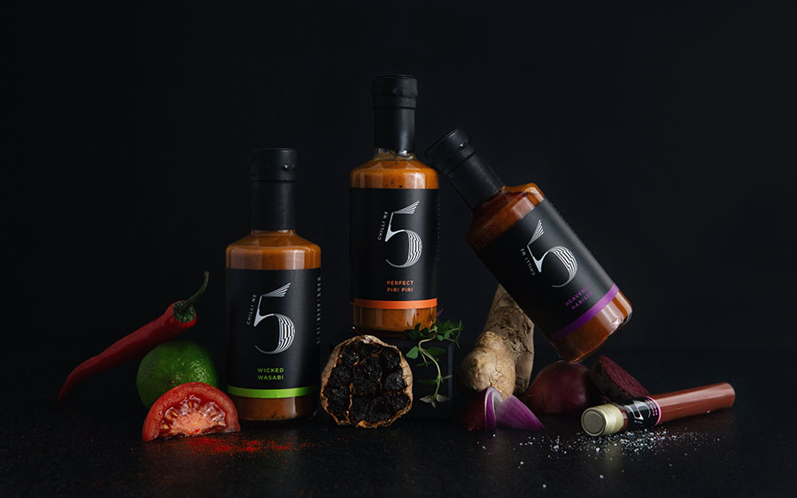 Spice up Veganuary with Chilli No. 5's vegan hot sauce