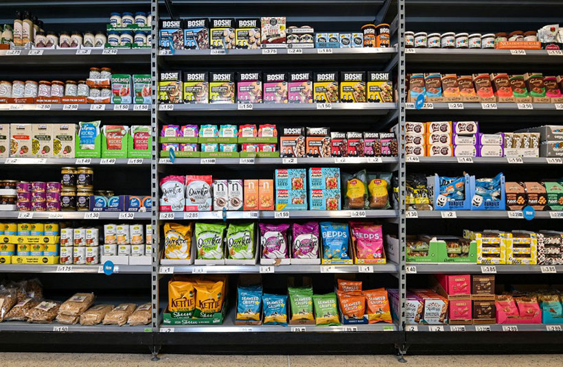 Asda's convenient vegan aisle has proved a hit with customers who can find vegan products in one place in-store.