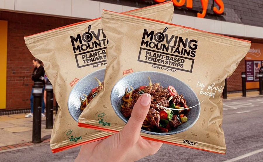 Moving Mountains has launched vegan Beef Tender Strips at Sainsbury's