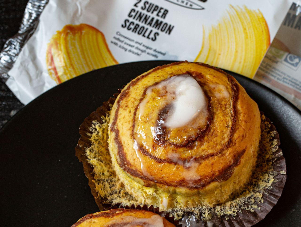 Tesco launch vegan bakery items including cinnamon rolls in Wicked Kitchen range