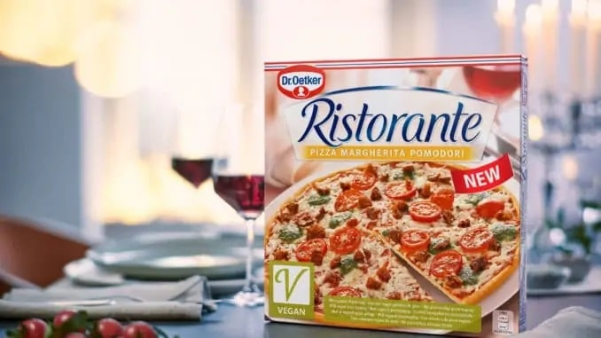 Dr Oetker is launching a vegan Ristorante pizza this spring