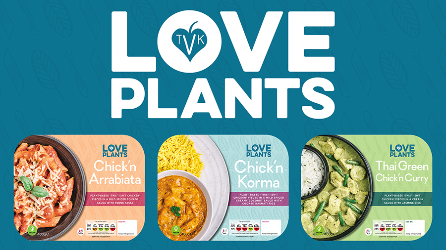 TheVeganKind launches a range of ready meals with THIS Isn't Chicken
