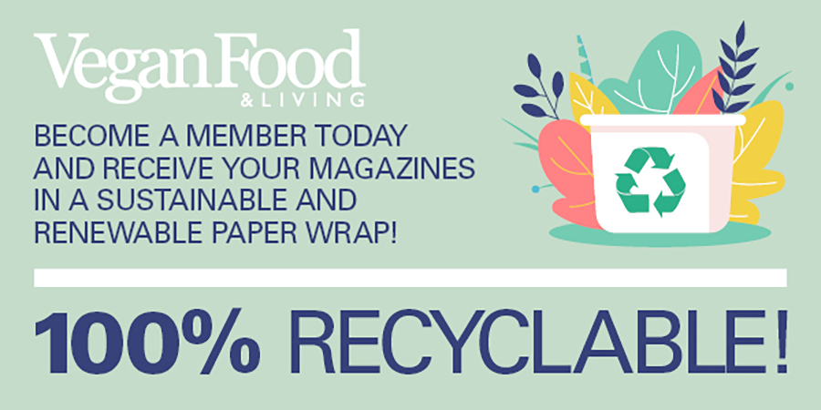 We are switching to 100% recyclable paper wrap!