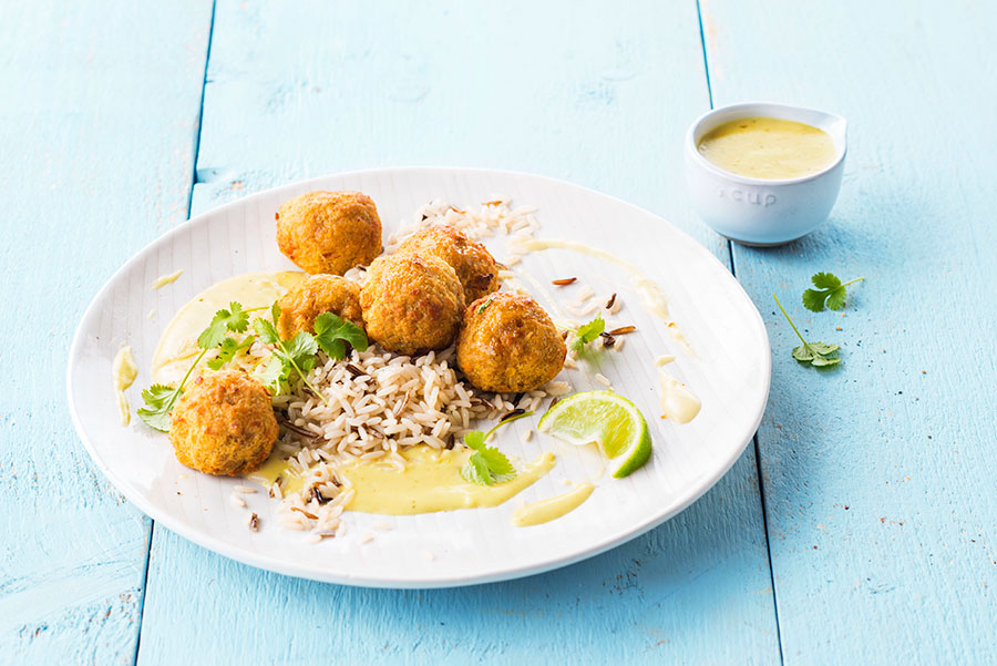 Spicy Red Lentil Balls