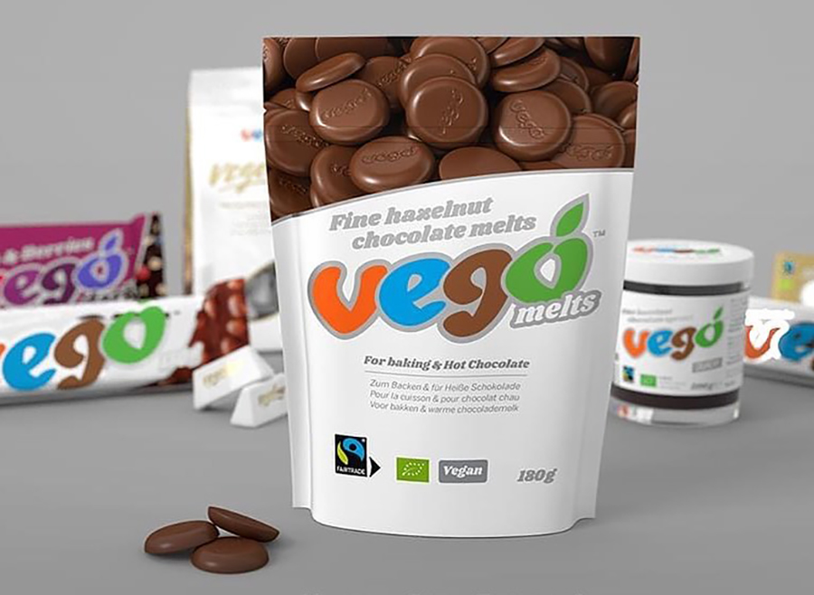 Vego launches chocolate melts for baking and hot chocolate