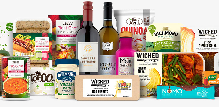 Tesco reports 'biggest-ever Veganuary' as sales of some vegan products soar by 750%