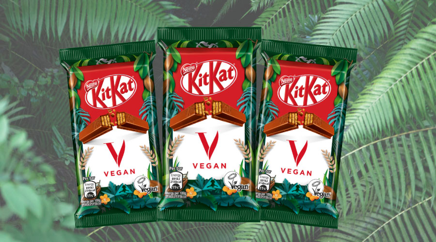 It's official – Nestlé is launching a vegan KitKat in the UK this year