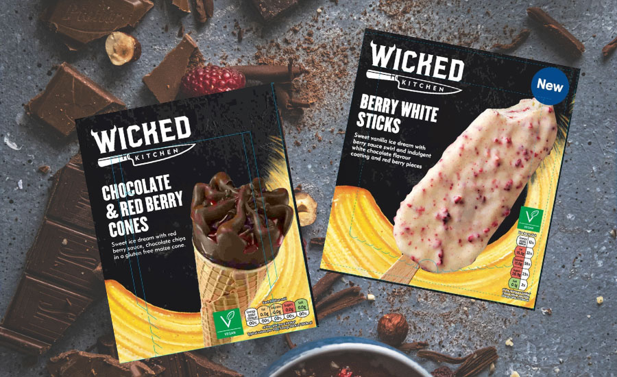 Wicked Kitchen launch new vegan ice cream cones and sticks at Tesco