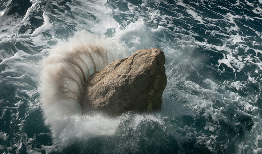 Greenpeace creates boulder barrier in conservation zone to prevent 'destructive fishing'