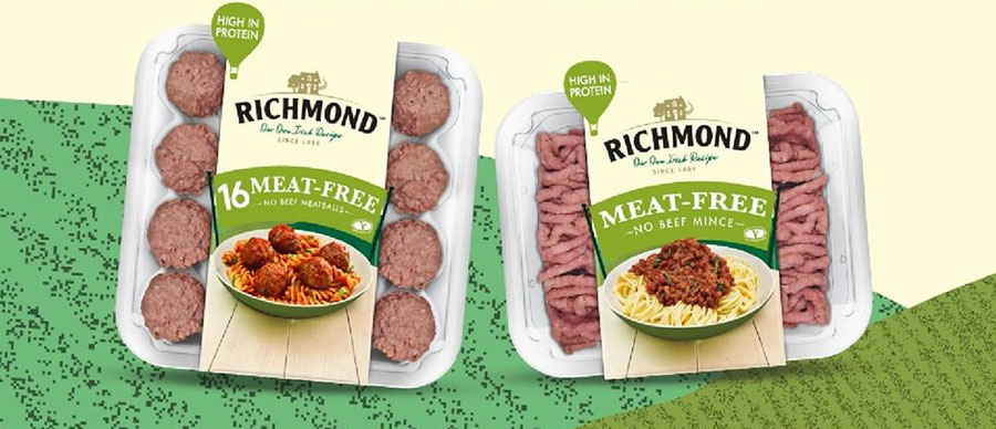 Richmond to launch vegan meatballs and mince in the UK