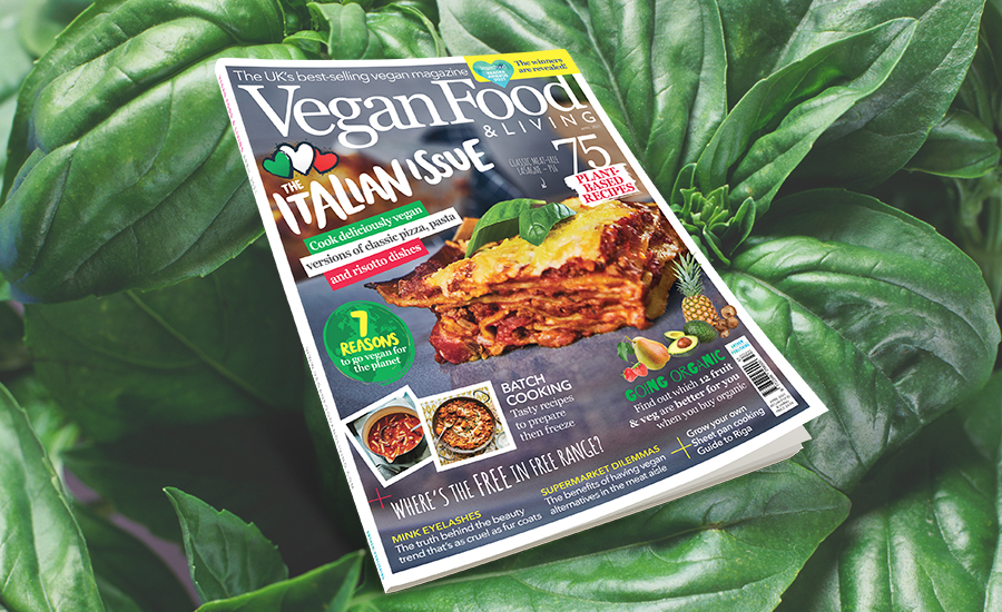 Cook up a feast with the Italian Issue of Vegan Food & Living