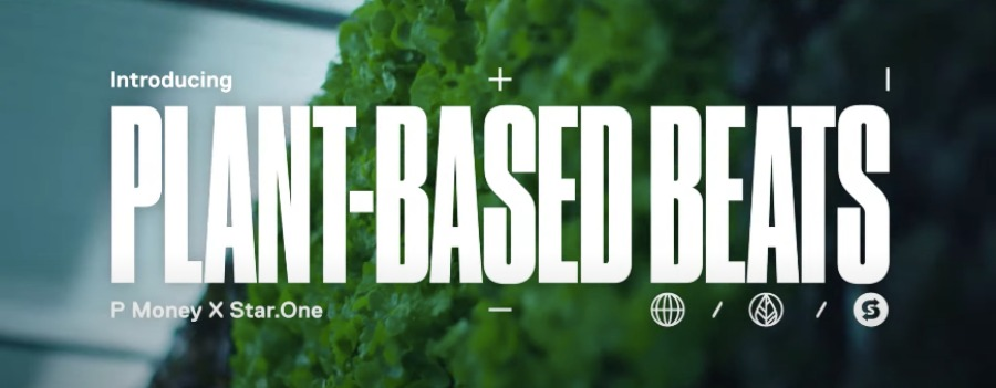 Vegan grime artists create music from plant vibrations for Subway
