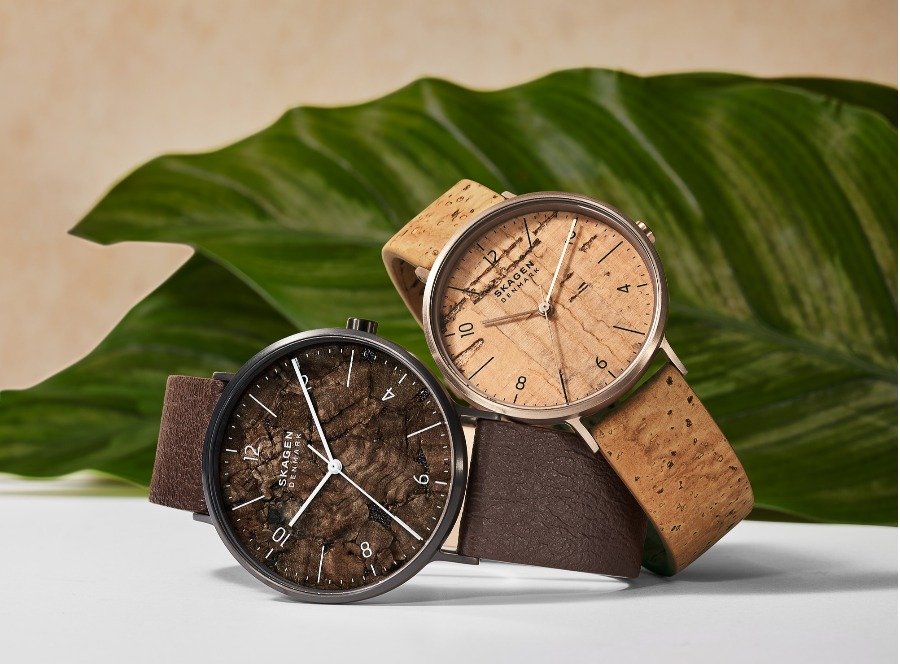 Skagen launches eco-friendly watch collection using vegan apple 'leather'