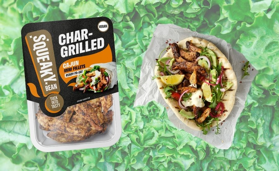 Squeaky Bean launches vegan chargrilled chicken mini fillets