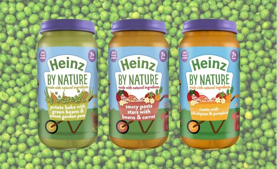 Heinz to launch a plant-based baby food range this summer