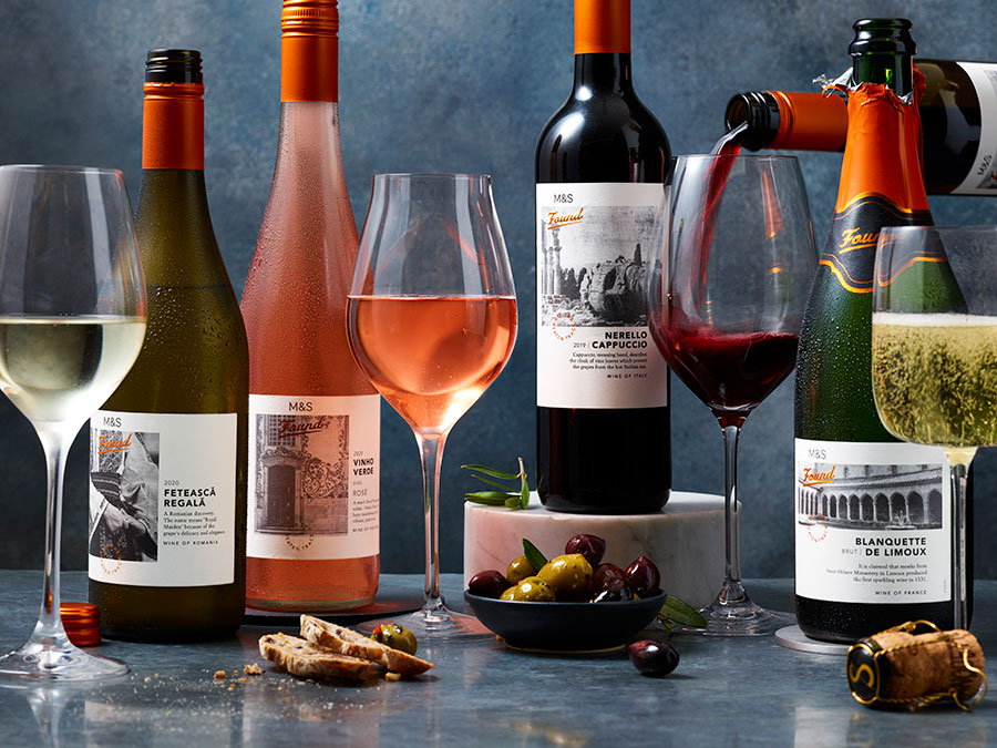 M&S pledges to make all wines 100% vegan by 2022 as it launches new vegan range