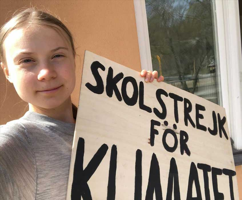 """Greta Thunberg warns we must switch to a vegan diet or """"we are f***ed"""""""