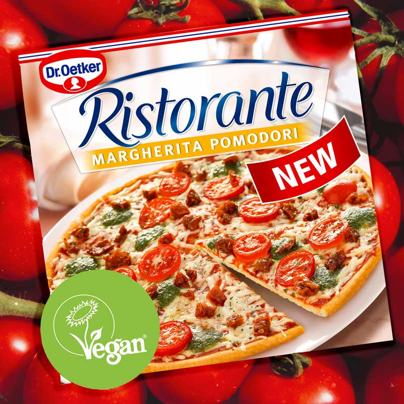 The first ever Dr. Oetker Ristorante vegan pizza has launched in the UK
