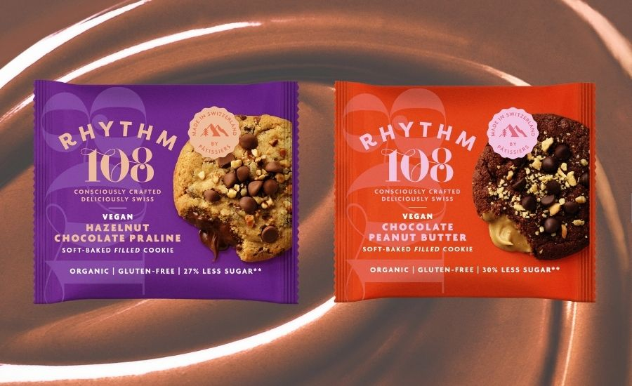Rhythm 108 launches vegan soft-baked filled cookies