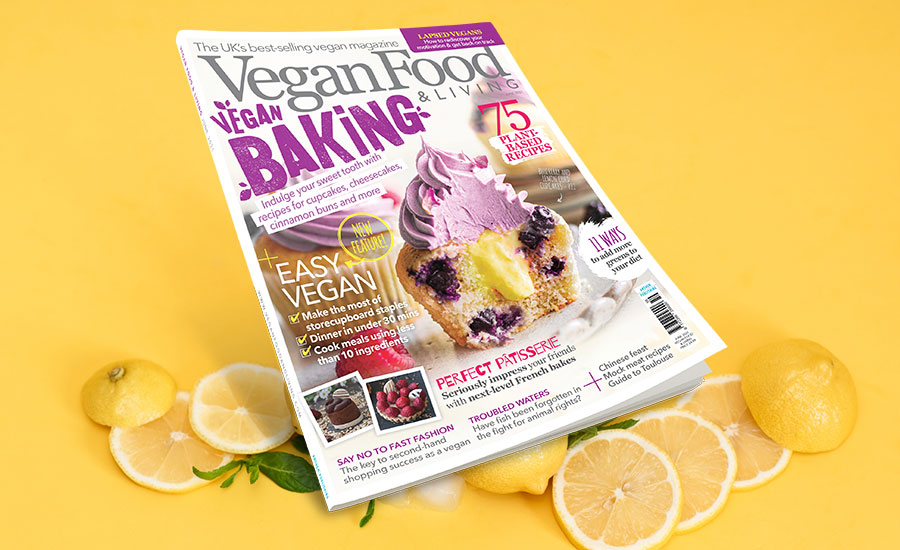Get set for a summer of baking delicious vegan treats
