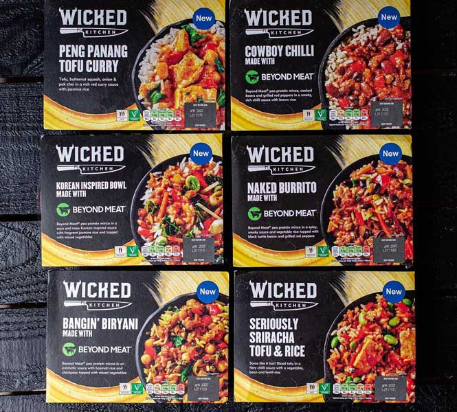 Wicked Kitchen teams up with Beyond Meat to launch vegan frozen meals