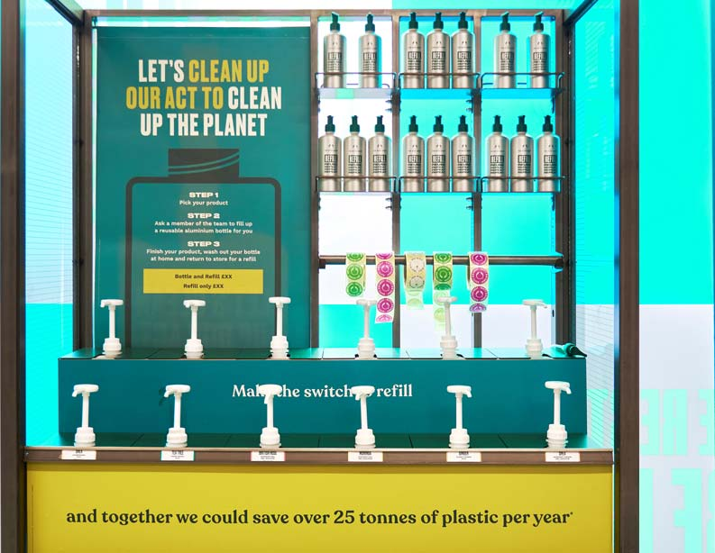 The Body Shop rolls out refill stations to 400 stores around the world