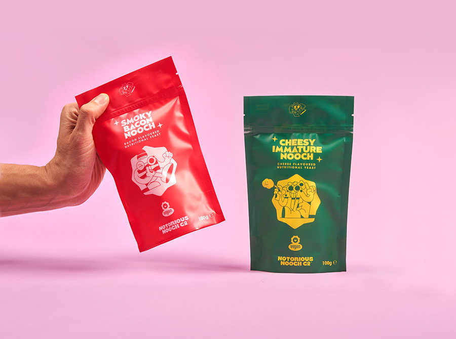 WIN! 6 packs of Notorious Nooch Co. Flavoured Nutritional Yeast Flakes – worth £24!