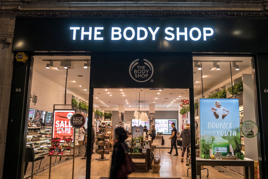 High street beauty brand The Body Shop to go fully vegan by 2023