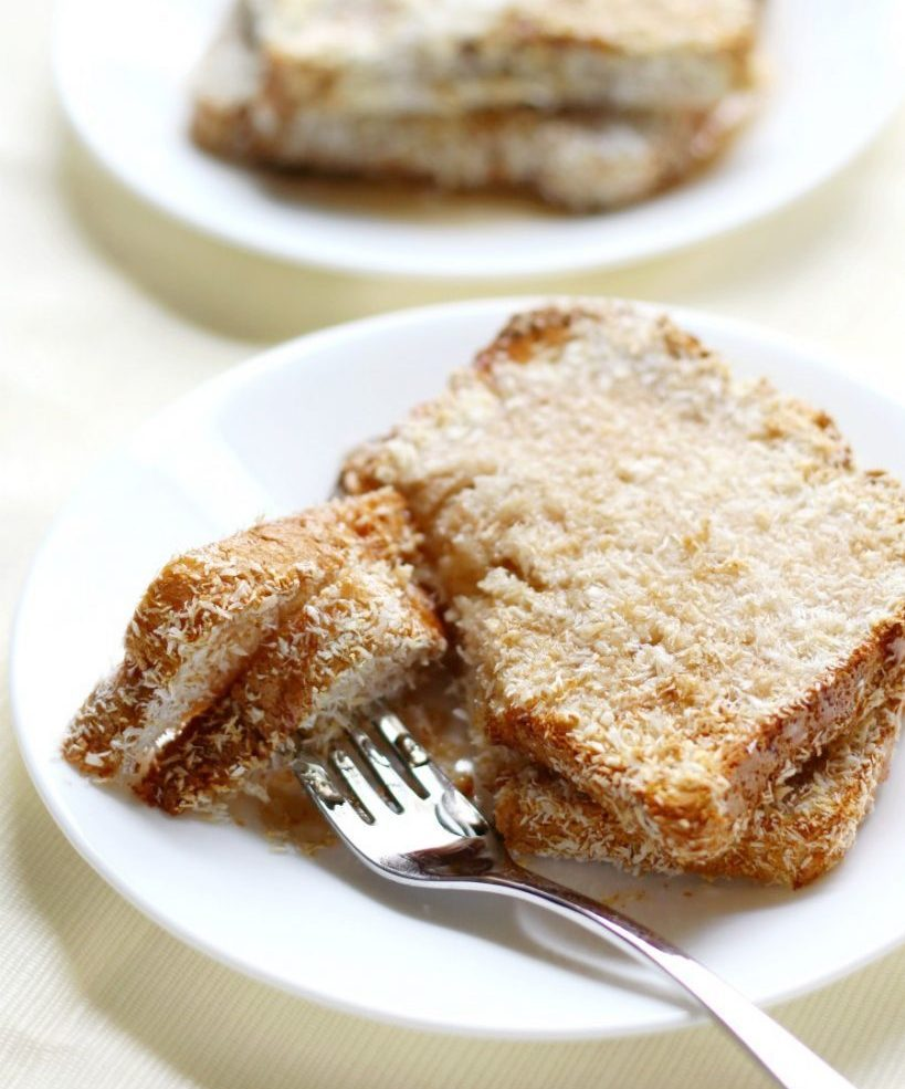 Air Fryer Toasted Coconut French Toast 10 e1625664873657