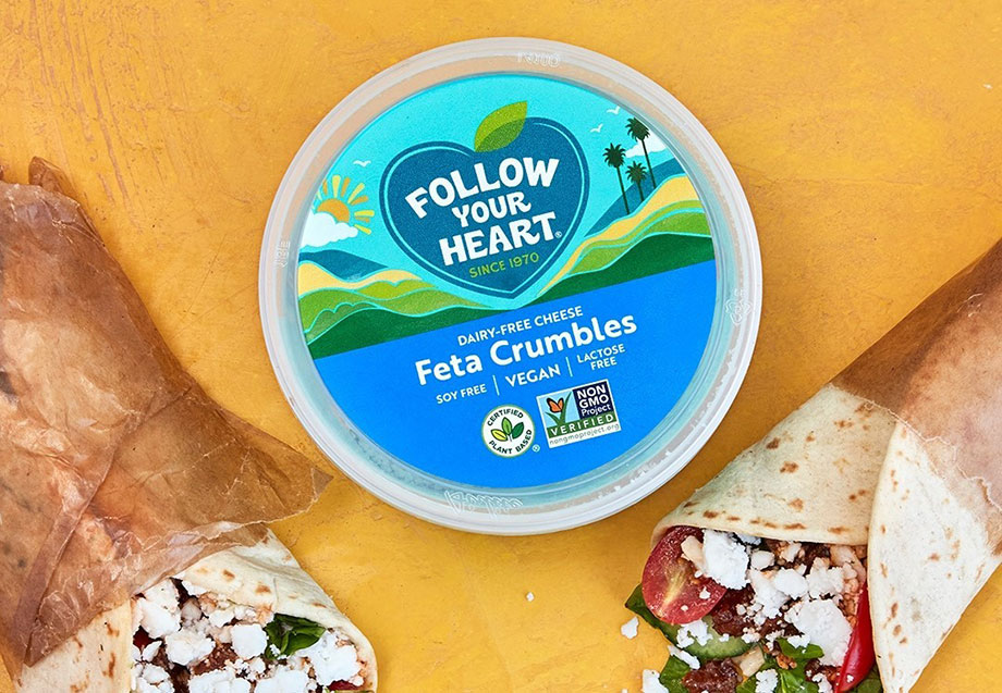 Follow Your Heart launches new vegan feta cheese in the UK