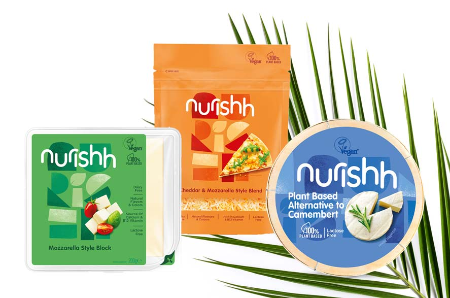 Nurishh vegan cheese launched by owners of Babybel and Boursin