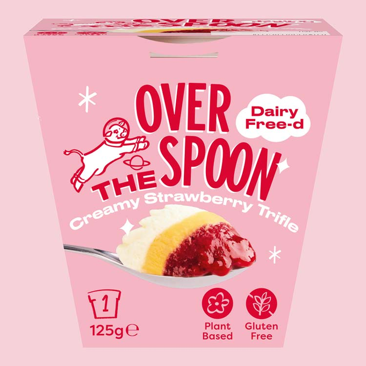 Over The Spoon launch world's first vegan and gluten-free trifle