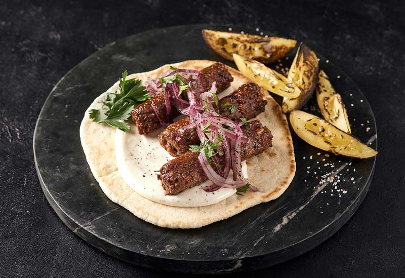 Redefine Lamb Kebab is set it be the revolutionise the vegan meat industry